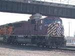 CEFX 129 leads a NB coal train at 5:37pm