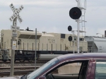 BNSF 9233 #6 power in a SB manifest at 12:26pm