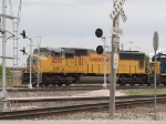 UP 4285 leads a light power move at 12:39pm