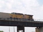 UP 5711 rear DPU on EB coal train at 12:39pm