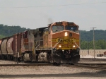 BNSF 4602 leads a NB manifest at 12:48pm