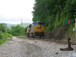 CSX 849 and 138 on Pusher duty