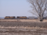 UP 6637 Leading Coal Loads To Sioux City