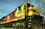 "BNSF 5193 in ""Kodachrome"""