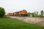 BNSF 5255 leads a WSP Z train