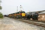 IAIS 707 leads the ethanol train into town