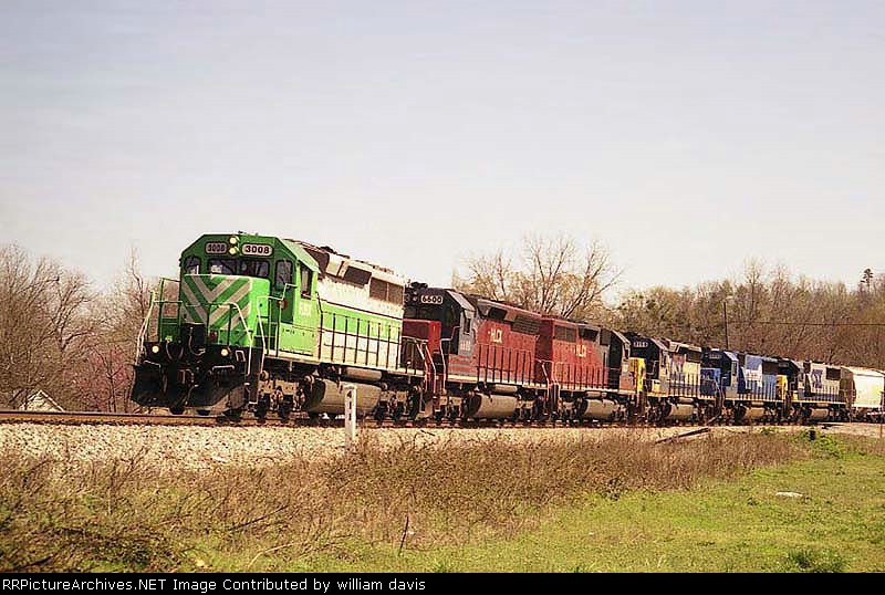 CSXT'S Atlanta Division S&NA South Sub