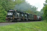 NS H3W NS 3041 Pouring out a lot of smoke!