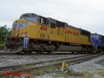 UP SD70M #4168