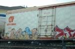 Some urban art on CRYX 3142