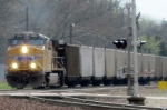 UP 5928 leads Westbound Empty Coal