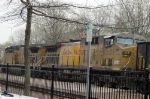 UP 7241 Passing Kirkwood Amtrak Station