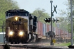 CSX on the UP