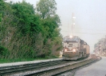 Westbound with BNSF Power