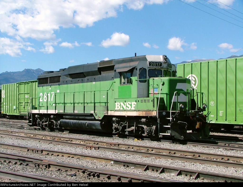 Patched BNSF GP30