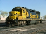 Patched Ex ATSF GP60