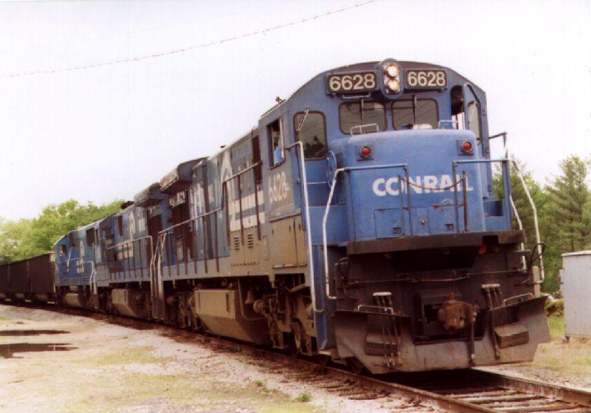 CR 6628 assembling a train