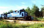 CR 6519 leads a train