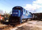 CR 6560 leads a coal train
