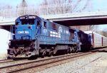 CR 6579 leads a rack train