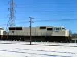 New EMD SD70 still unpainted
