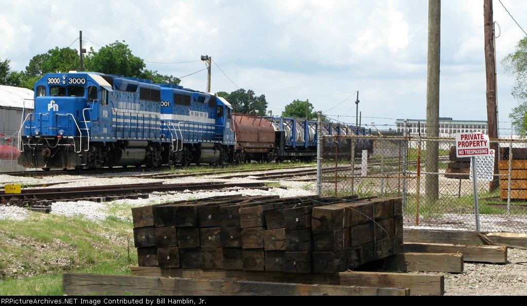 """Newest NOPB """"used"""" locos PCN 3000 and 3001."""