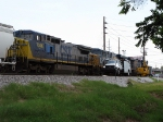CSX freight holds at Central