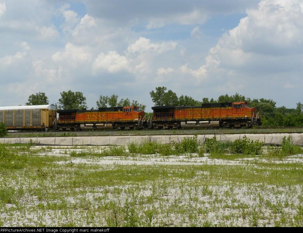 BNSF 5117