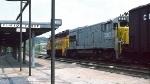 CSX U25B and GP40 at Clifton Forge