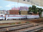 Amtrak in N-scale.