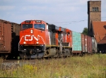 A later than usual CN 399 by Brantford Sept 3/07 @ 16:49