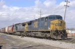 CSX 563 and 7848