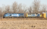 CSX 7333 and 8057