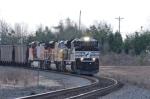 A CRISP MORNING IN SOUTH CAROLINA WITH IMPORT COAL HEADS UP THE W LINE