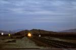 Edison, California. At dusk.