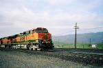 GE C44-9W.Bealville grade crossing