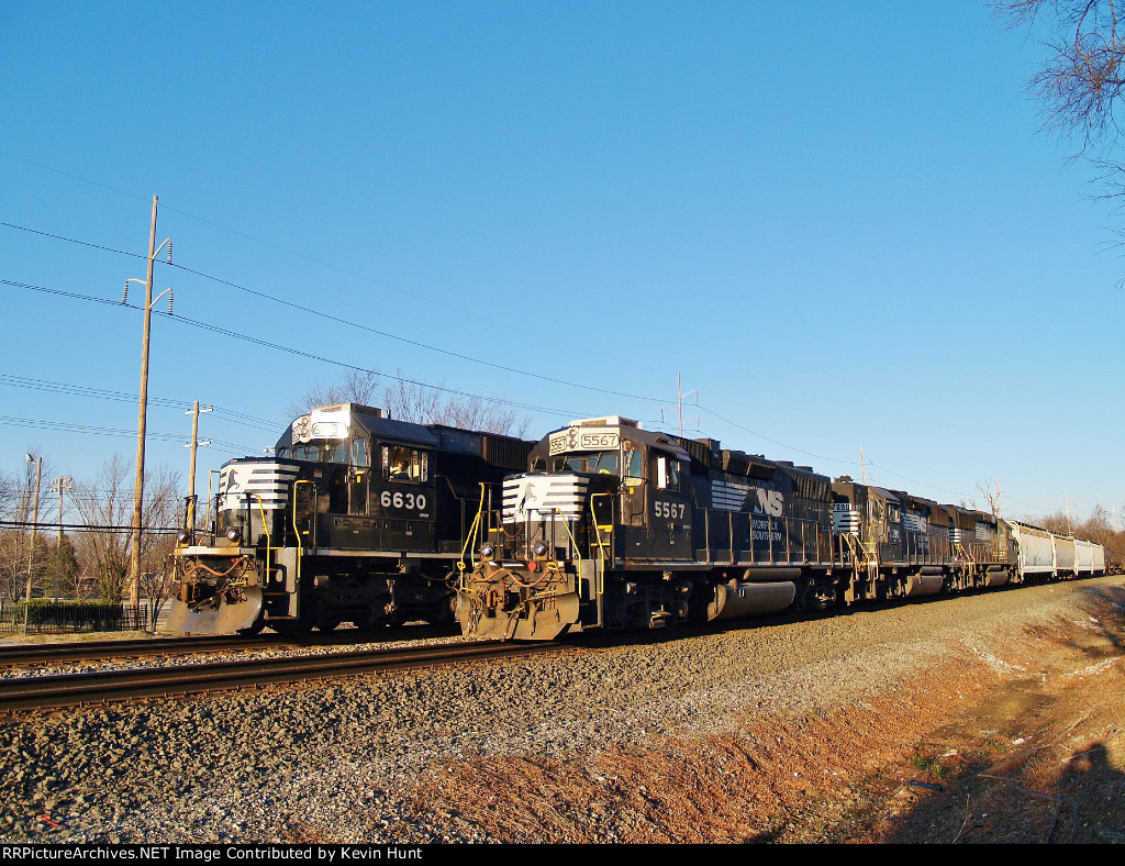 Train 901 passes Train P02