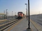 CN 5616 passing thru Aldershot Station