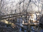 Washed out trestle on the G&F
