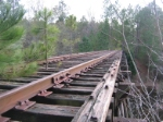 Another view of the G&F trestle