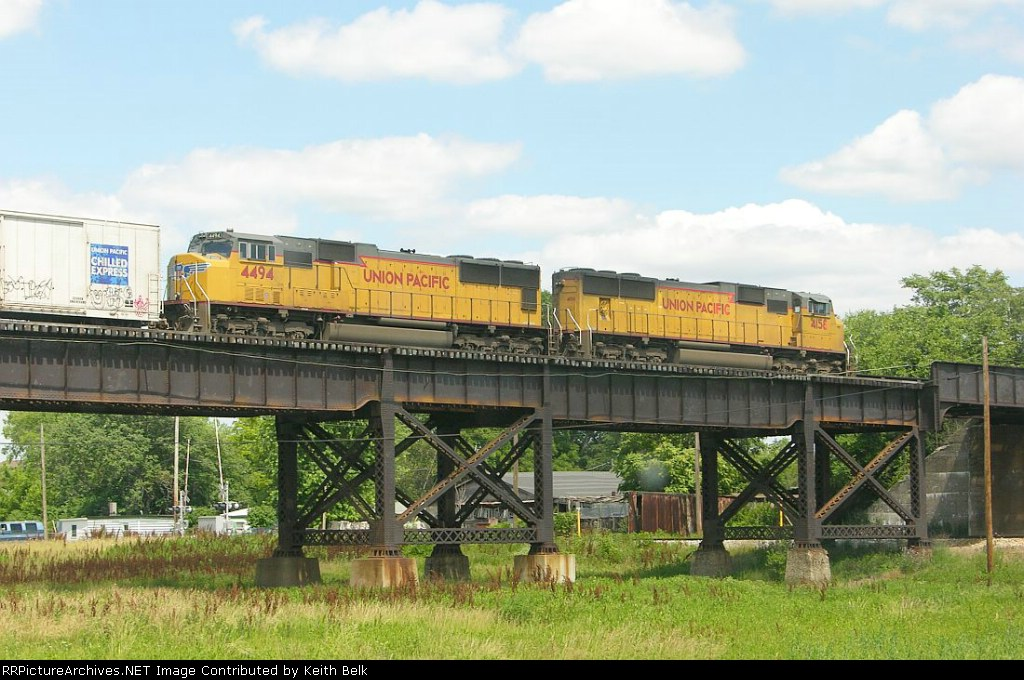 UP 4494 and 4156
