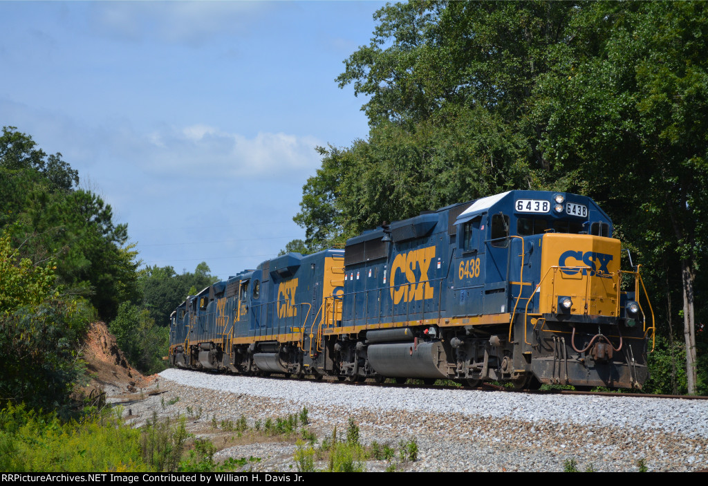 CSXT'S Atlanta Division Lineville Sub