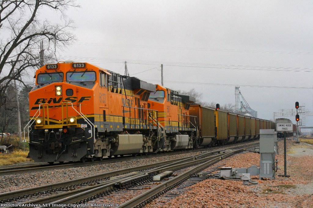 BNSF 6133 East