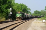 BNSF 8045 north
