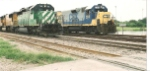 HLCX #7191 and CSX #2315