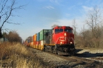 Dash-9 powers CN intermodal