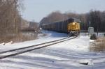 CSX power on CN rail