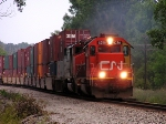 CN 6256 leads Q149 west