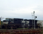 NS 2598 in Lloyd Yard CCRCL consist
