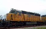 UP 3179 SD40-2R 4th in 21 motor consist